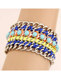 Order Multicolour Multi Pendant Bead Fashion Bracelets