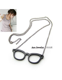 Fashion Silver Color Letters Pattern Decorated Simple Design Alloy Chains