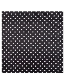 Fashion Black Spot Pattern Decorated Simple Scarf