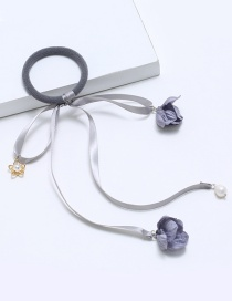 Lovely Light Gray Bowknot Decorated Hair Band
