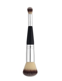 Fashion Black+silver Color Color-matching Decorated Brush