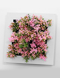 Fashion Pink Simulation Tree Decorated Wall Hanging