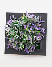 Fashion Green+purple Simulation Tree Decorated Wall Hanging