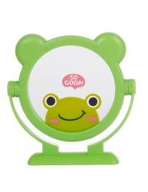 Fashion Green Frog Pattern Decorated Cosmetic Mirror