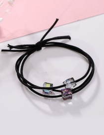 Fashion Multi-color Square Shape Decorated Hair Hand
