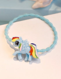 Lovely Blue Pegasus Shape Decorated Hair Band