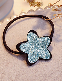Fashion Blue Star Shape Decorated Hair Band