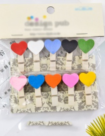 Lovely Multi-color Heart Shape Decorated Ornament