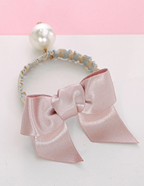 Lovely Pink Bowknot Shape Decorated Hair Band