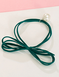 Elegant Green Bowknot Shape Decorated Hair Band