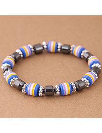 Fashion Multi-color Color-matching Decorated Bracelet