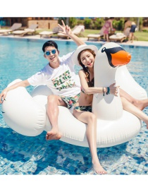 Fashion White Swan Shape Decorated Floating Row