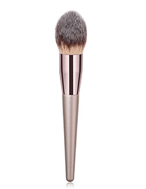 Fashion Champagne Flame Shape Design Cosmetic Brush(1pc)