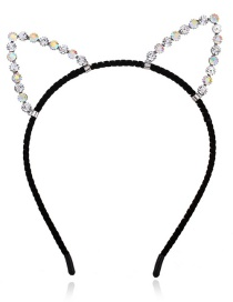 Fashion Black Cat Shape Decorated Headband