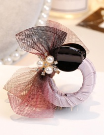 Fashion Multi-color Bowknot Shape Decorated Hair Clip