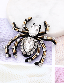 Fashion Gold Color Spider Shape Decorated Patch