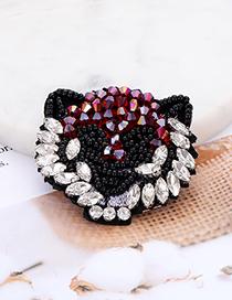 Fashion Multi-color Bead&diamond Decorated Patch