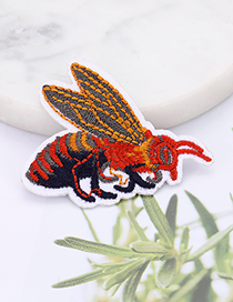 Fashion Multi-color Bee Shape Decorated Patch