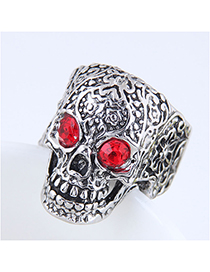 Fashion Silver Skull Ring