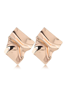 Fashion Gold Metal Earrings