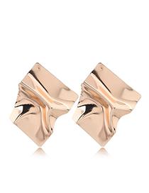 Fashion Gold Metal Earrings