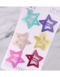 Fashion Silver Alloy Diamond Bowknot Fishbone Flower Hairpin Set