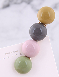 Fashion Color Candy Color Hair Clip