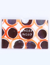 Fashion Black Spot Pattern Decorated Certificates Case
