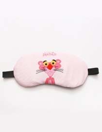 Fashion Pink Letter≤opard Pattern Decorated Eyepatch