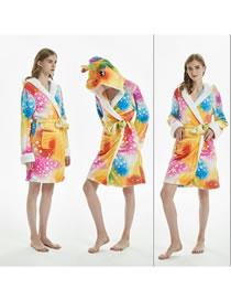 Fashion Multi-color Star Pattern Decorated Pajamas