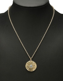 Fashion Gold Color Star Pattern Decorated Necklace