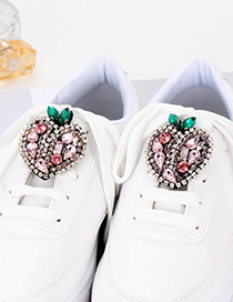 Fashion Multi-color Heart Shape Decorated Shoes Accessories