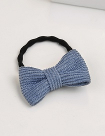 Fashion Blue Bowknot Shape Decorated Hair Band (1 Pc )