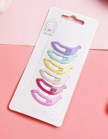 Lovely Muti-color Color Matching Design Child Hairpin(6pcs)