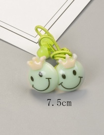 Fashion Green Face Shape Decorated Hairband