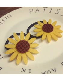 Elegant Yellow Sunflowers Decorated Hair Band(large)
