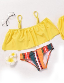 Fashion Child Split Parent-child Shoulder Bikini