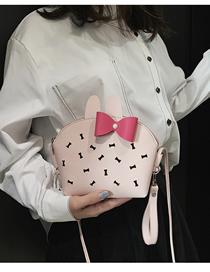Fashion Pink-butterfly Diagonal Bag Phone Pocket Purse
