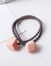 Fashion Pink Square Hairband