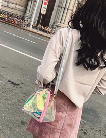 Fashion Transparent Laser Transparent Chain Mother Summer Shoulder Bag