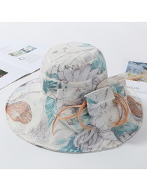 Fashion Creamy-white Dalat Celosia Fisherman Hat