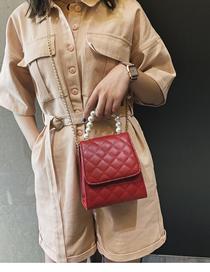 Fashion Brown Plush Studded Flap And Diamond Crossbody Shoulder Bag