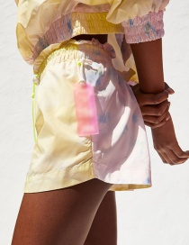 Fashion Color Tie Dyed Shorts