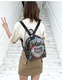 Fashion Color Love Sequin Shoulder Bag