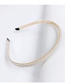 Fashion G Alloy Pearl Headband