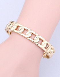 Fashion Gold Chain Opening Bracelet