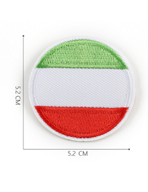 Fashion Color Embroidered Badge Patch