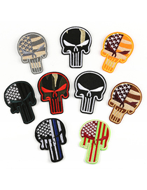 Fashion Color Embroidered Adhesive Tape Patch 9