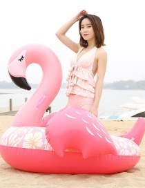 Fashion Sleeping Beauty Flamingo Mount Inflatable Row Riding Ring