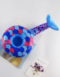 Fashion Mermaid Cup Holder Inflatable Water Coaster